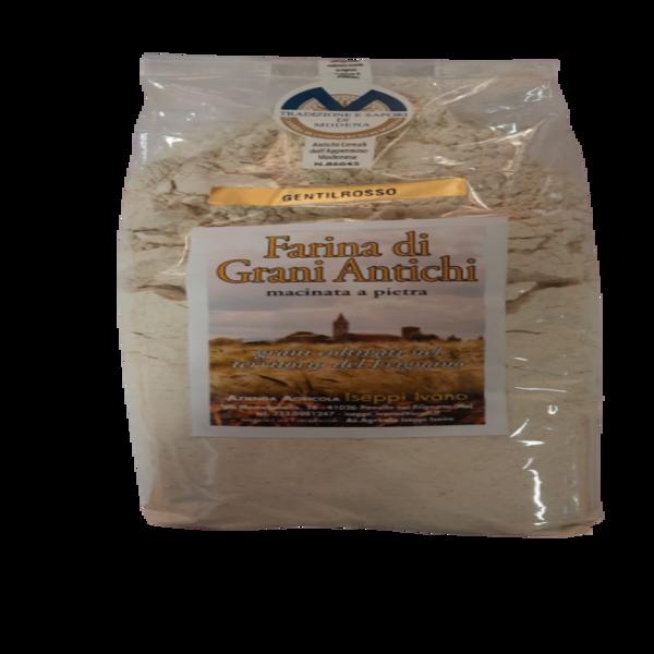 Farina di grano tenero Gentilrosso